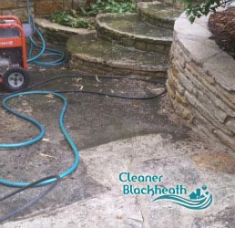 stone patio cleaning blackheath